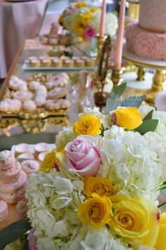 Blush and gold event by KettyDelights