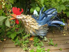 Homestead Survival: Step By Step Tutorial Egg Carton Rooster Craft Project