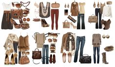 Style ideas...look and get your ideas in mind, then GO FOR WHAT INSPIRES YOU! :)
