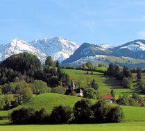 Berghofer Kapelle, Rotspitze, Daumenmassiv und Sonnenköpfe