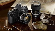 Nikon reveals retro inspired Df DSLR   Nikon has introduced the Df, a DSLR with a classic, retro design and top of the line digital sensor Buying advice from the leading technology site