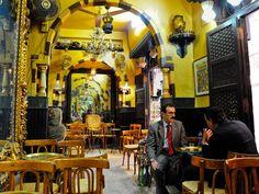 Traditional coffeehouse Al Fishawi, Egypt