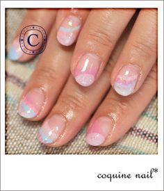 coquine nailパステルネイル