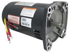 Motor,3/4 Hp 48 Fr Sq Fl Thd 3 Phase