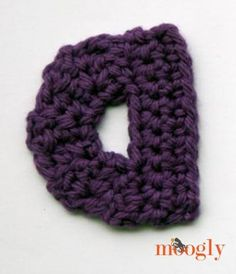 Crochet Stitches On Moogly : Moogly Lowercase Alphabet - free #crochet patterns! crocheted ...