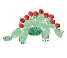 Finger Printing Art Set Dinosaurs - npw - Gifts for all Fun Crafts For Kids, Art For Kids, Arts And Crafts, Kid Crafts, Craft Activities, Preschool Crafts, Square 1 Art, Fingerprint Art, Dinosaur Pictures