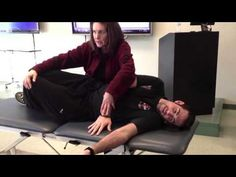 NDT Supine to Sit - YouTube
