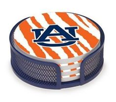 Thirstystone 5 Piece Auburn University Stripes Collegiate Coaster Gift Set #NA #NA