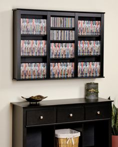 10 Clever DVD Storage Ideas For Small Spaces Re pin Pinterest