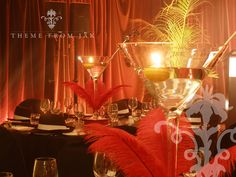 gangster party theme decorations   IMAGE gallery All Theming Weddings Themed Weddings Corporate Events ...