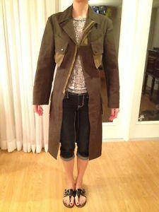 Junya Watanabe Comme des Garcons Coat Olive Green