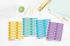 Hockey Planner Stickers | Hockey Game Planner Stickers | Hockey Practice Planner Stickers (14 Stickers) by TheCleverDesign on Etsy
