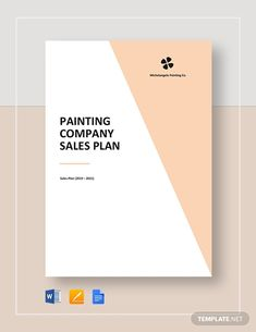 Instantly Download Painting Company Sales Plan Template, Sample & Example in Microsoft Word (DOC), Google Docs, Apple Pages Format. Available in A4 & US Letter Sizes. Quickly Customize. Easily Editable & Printable. Microsoft Publisher, Microsoft Word, Sales Template, Templates, Sales Letter, Paint Companies, Seo Agency, Google Docs, Word Doc
