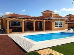 Luxury Villa With Private Heated Pool, Wi-fi and Landscaped Gardens   Holiday Rental in Fuerteventura from @HomeAwayUK #holiday #rental #travel #homeaway