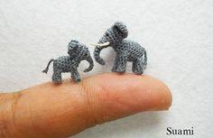 Miniatur-Häkeltiere - klein aber fein [LangweileDich.net]