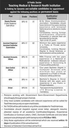 Jobs In The Public Cooperative Housing Society Ltd Gujranwala