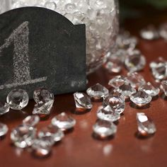 Clear Acrylic Diamond Confetti - Confetti - Table Scatters - Party Supplies - Party  & Special Occasions