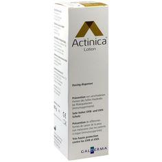 ACTINICA Sonnenschutz Lotion Dispenser:   Packungsinhalt: 80 g Lotion PZN: 01617777 Hersteller: Galderma Laboratorium GmbH Preis: 14,52…