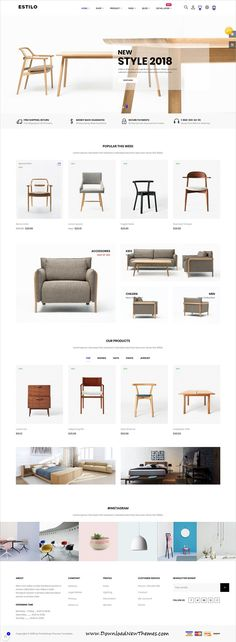 Buy At Estilo Prestashop Theme for Home Decor & Furniture Store by leo-theme on ThemeForest. Details It is quite difficult for some people to create an Furniture design website. Types Of Furniture, Design Furniture, Furniture Layout, Home Decor Furniture, Furniture Making, Furniture Sets, Furniture Websites, Metal Furniture, Repurposed Furniture