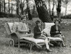 Queen Mum (deceased)  Princess Margaret (deceased),  Princess Elizabeth (became Queen Elizabeth)