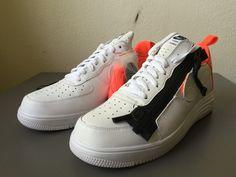 "quality design 3f7ce 580b8 ACRONYM x Nike Lunar Force 1 SP ""Zip"" - White Crimson   Nike   Nike ..."