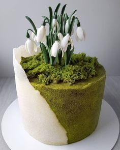 Creative Cake Decorating, Cake Decorating Videos, Cake Decorating Techniques, Creative Cakes, Gorgeous Cakes, Pretty Cakes, Cute Cakes, Amazing Cakes, Sweets Cake