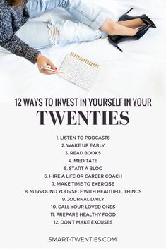 Find out how twenty-somethings can invest in themselves to make the most of their twenties. Plus personal development tips and life advice for millennials. A must-read if you're in your twenties! diet 21 days 10 Simple Ways I Invest In Myself Self Development, Personal Development, Development Quotes, Mental Training, Self Improvement Tips, Life Advice, Career Advice, Career Planning, Life Tips