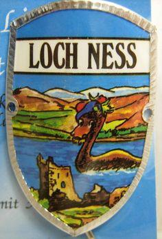 Scotland Loch Ness New Badge Mount stocknagel Hiking Medallion G9792   eBay