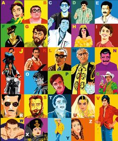These all are famous bollywood characters- We can play with faces like this