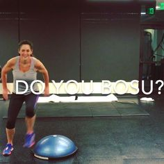 BOSU Workout #stability  Click photo for link to video. #BOSU #Fitness #Cardio