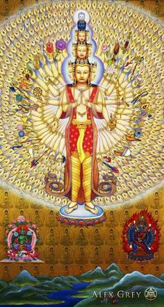 By alex grey* Arielle Gabriel, author of The China Adventures of Arielle Gabriel is a Buddhist who writes about the miracles of Kuan Yin in her book The Goddess of Mercy & The Dept of Miracles, when she suffered financial disaster in the mercenary city of Hong Kong *