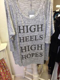Leuke tekst op een makkelijk basic shirt