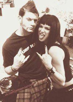 Jensen Ackles and Danneel