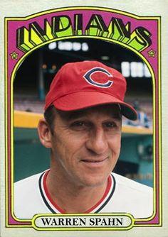 Warren Spahn Cleveland Indians