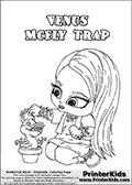 monster high baby coloring pages baby nefera de nile