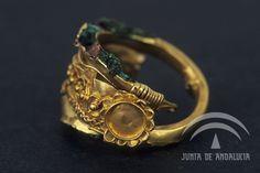 Conjunto de joyas fenicias    Museo Arqueologico de Cadiz