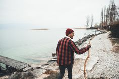 Urban Fisherman Look. Men's Winter Fall Outfit Inspiration. Organic Merino Wool Beanie by VAI-KØ. FREE INTL SHIPPING TILL CHRISTMAS!