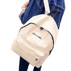 Designer Simple Printing Travel Bag Backpack Quality Nylon Daypack School bag Portable Laptop Bag Sports bag Female Rucksuck iPhone Web Shop  