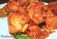 Chicken Asado (also called Asadong Manok) is a piquant Filipino chicken stew cooked in a tomato based sauce with potatoes.