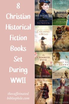 8 Christian Historical Fiction Books Set During WWII — The Caffeinated Bibliophile Best Historical Fiction Books, Fiction Books To Read, Historical Romance, Thriller, Christian Fiction Books, Nonfiction Books, Book Publishing, Book Lists, Good Books