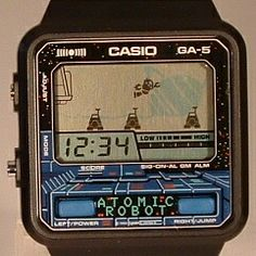 Casio nerd game watches from 70s and 80s / Relojes Casio de los años 70 y 80 con videojuegos