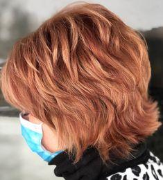 Layered Haircuts For Women, Short Shag Hairstyles, Short Hair Cuts For Women, Short Textured Haircuts, Cute Hairstyles, Natural Wavy Hair, Short Wavy Hair, Short Hair With Layers, Flat Iron Short Hair