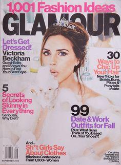 Victoria Beckham GLAMOUR USA #9 2012 Elizabeth Olsen Sophie Auster Lily Collins