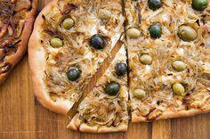 Preparing an Onion Tart, a Pizzalike Tarte Flambée or Flammekuche - The New York Times