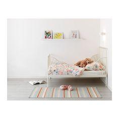 MINNEN Struct lit ext av sommier à lattes IKEA Extensible, le lit peut être rallongé pour suivre la croissance de l'enfant.