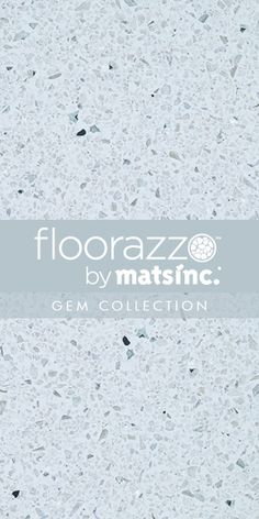 #Terrazzo #Tile #Flooring ? // #Floorazzo ™ #Gem Collection // Pearl // Learn more & order samples here http://matsinc.com/commercial-flooring-products/contract-flooring/terrazzo-tile-flooring/floorazzo-gem.html