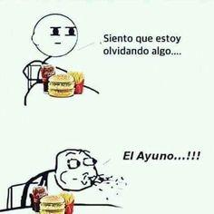 El #ayuno