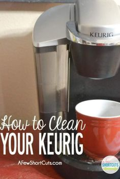 What to do when your Keurig doesn't make a full cup of coffee! Learn how to clean your keurig brewer.