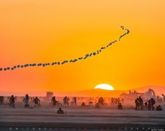deep playa sunrise