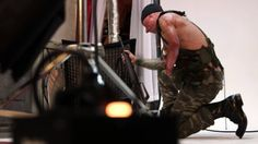 Michael Stokes is showing the world a very different view of America's wounded veterans.